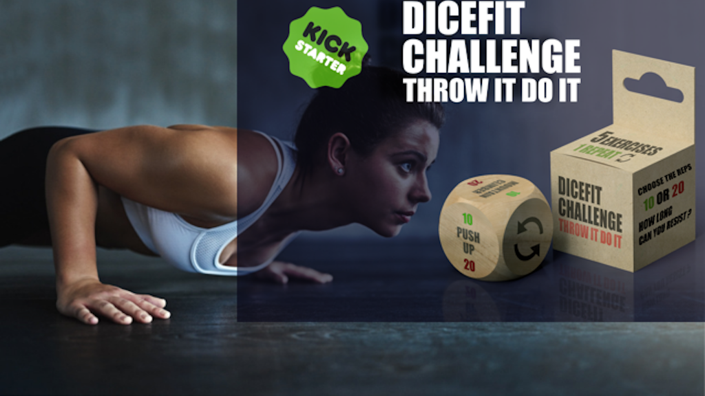 DICE FIT CHALLENGE, THE WORKOUT GAME project video thumbnail