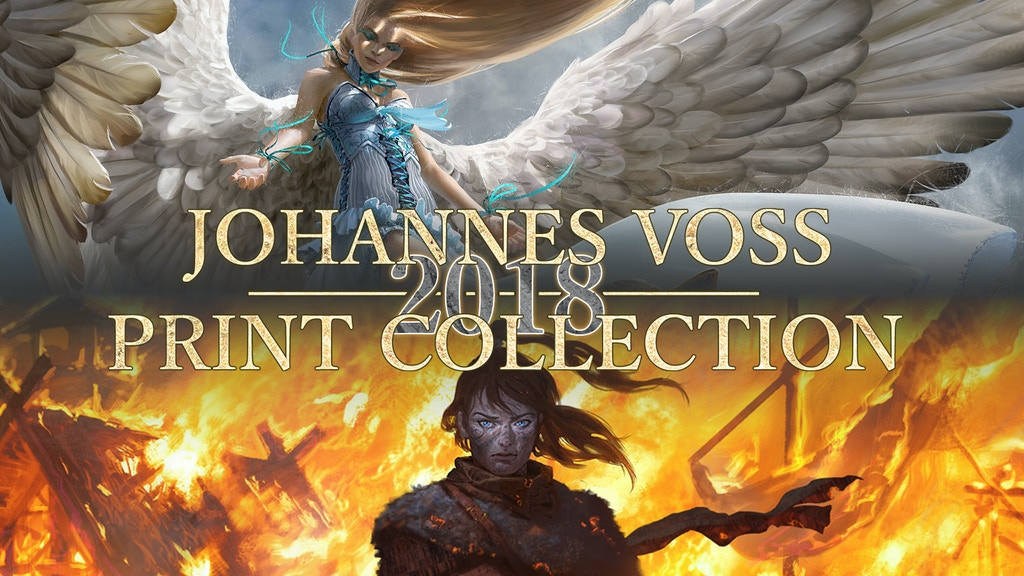 Johannes Voss - 2018 Magic: The Gathering Print Collection