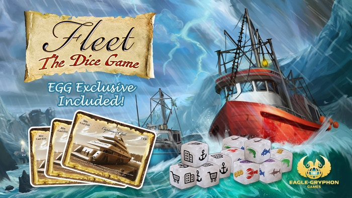 An exciting & strategic roll & write dice game from the creators of Fleet! It's quick, it's simple, and it's fun for the entire family!
