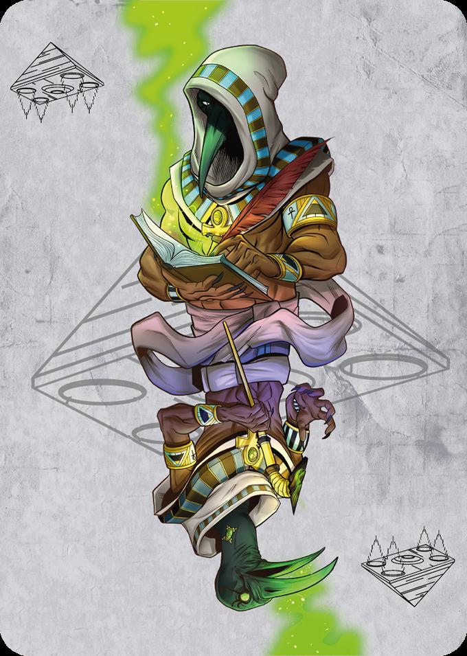 Thoth Gaff Card