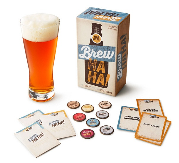 Add on a copy of our most recent release, BREW HA HA! Also named Amazon's Choice for beer game!