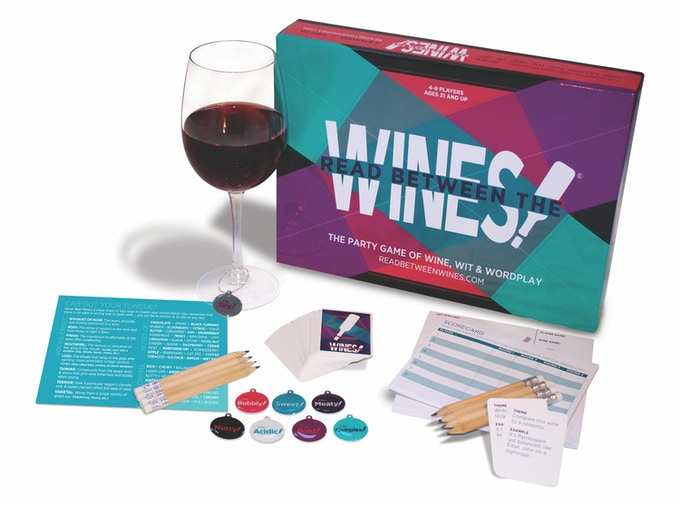Get a discounted copy of our first game, READ BETWEEN THE WINES! named Amazon's Choice!