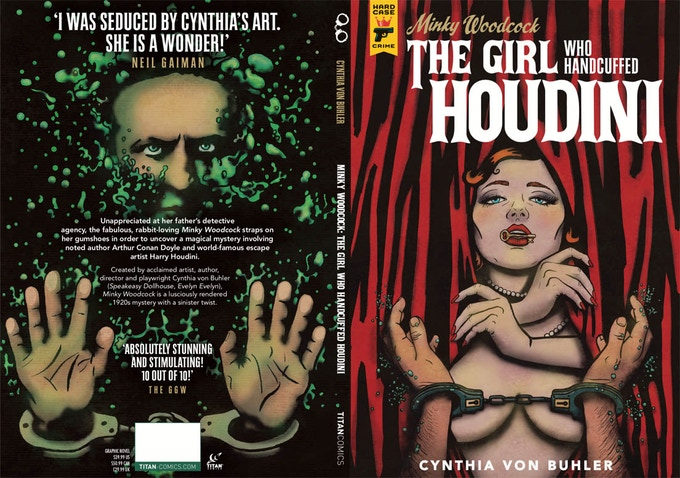 The hardcover, graphic novel by Cynthia von Buhler.