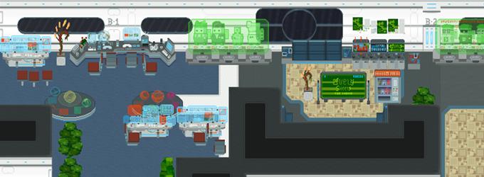Alpha Station - Control Deck