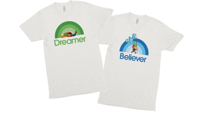 """Dreamer"" & ""Believer"" Styles Available"