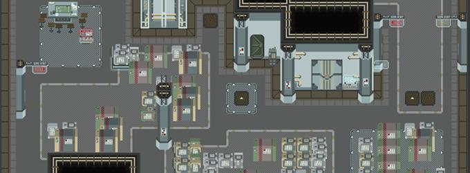 Alpha Station - Hangar Bay Deck