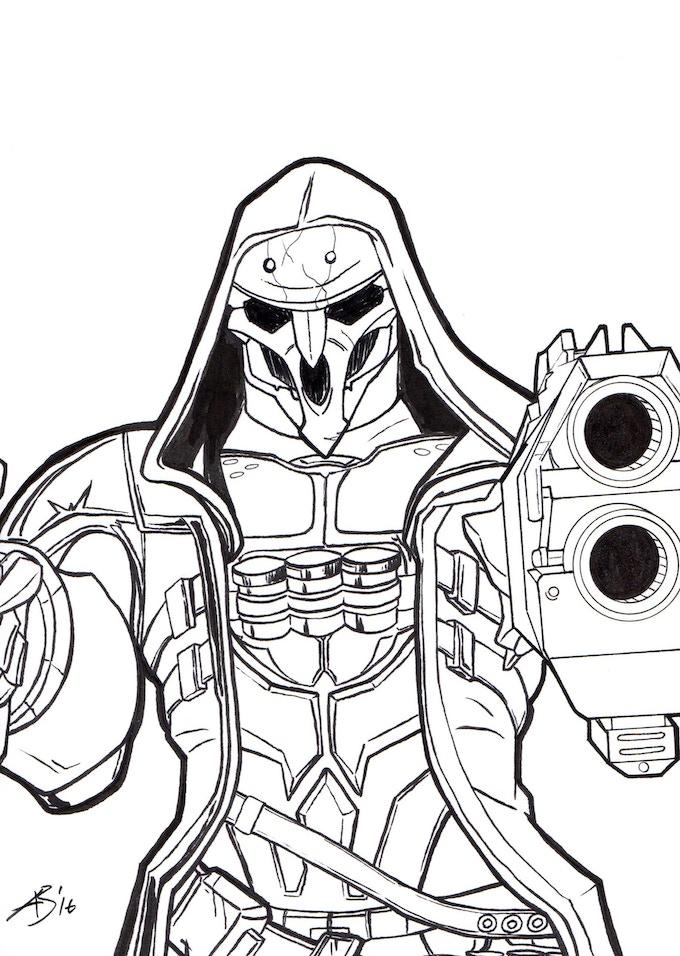 Reaper - Overwatch Killer sample sketch