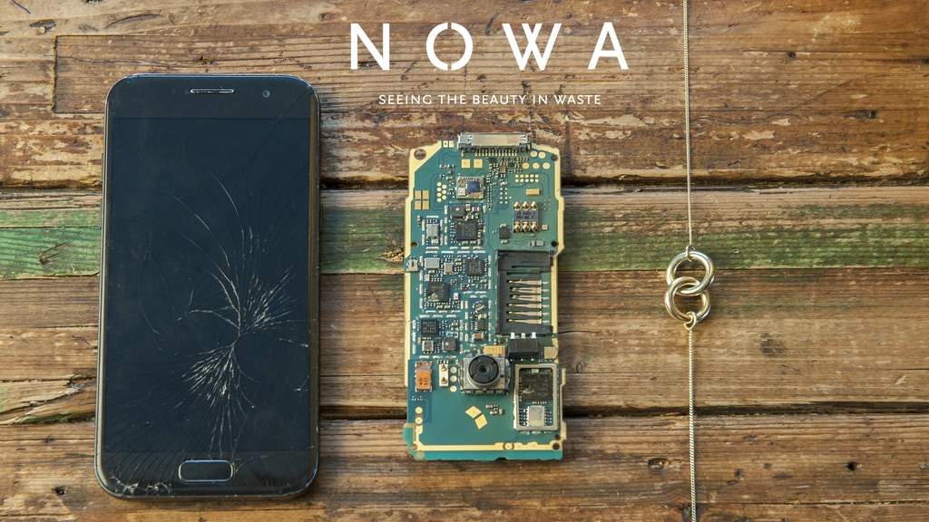 Nowa - Beautiful Jewelry made from Recycled Mobile Phones project video thumbnail