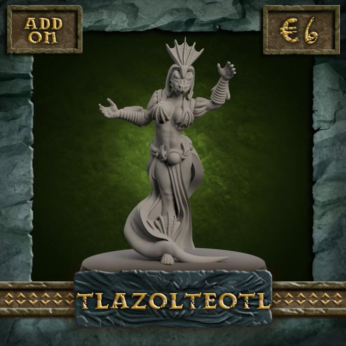 CHEERLEADER - Tlazolteotl