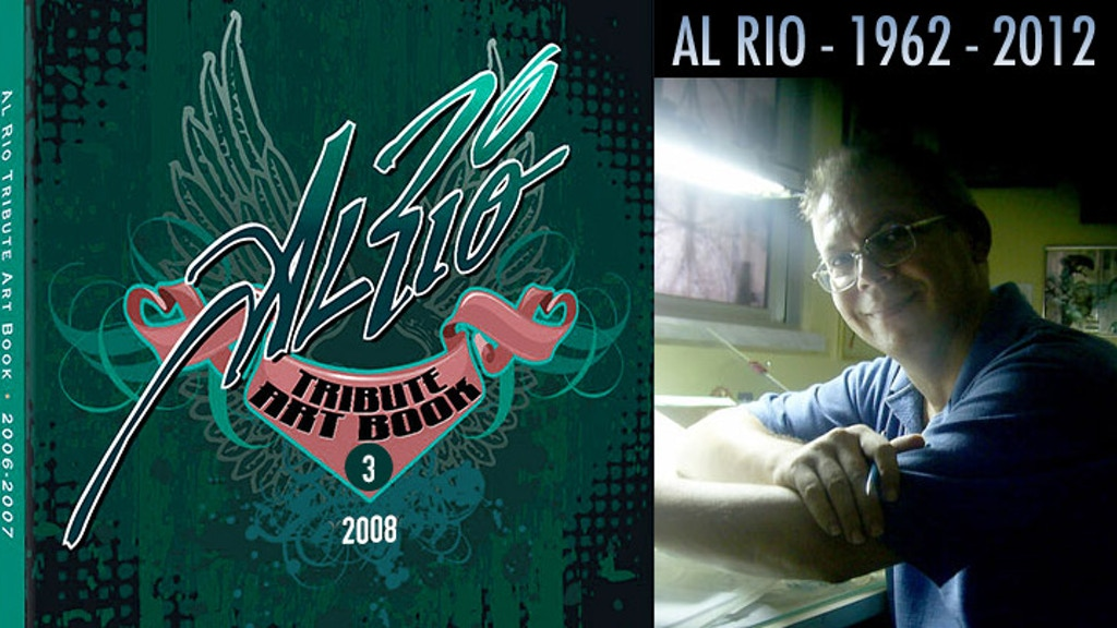 Al Rio Tribute Art Book Volume Three project video thumbnail