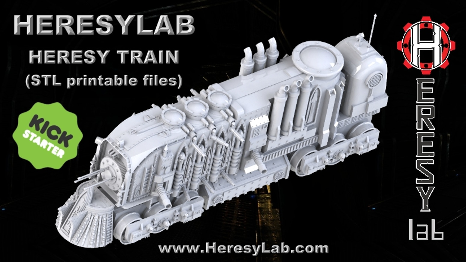 I am no longer following messages on this Kickstarter, if you have any issue please email me at: INFO@HERESYLAB.COM