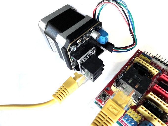 3D shield - uStepper as drop-in replacing StepStick