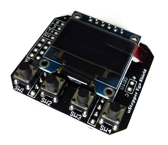 uStepper Ego Shield - for single axis stand-alone control