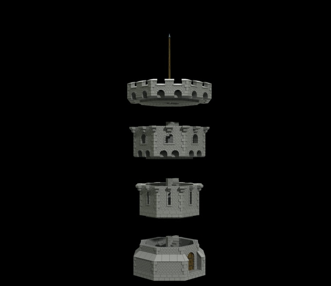 Freestanding Tower 3D image