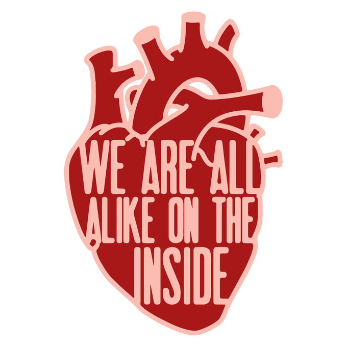 We Are All Alike Pin And Patch By Dave Walker Kickstarter