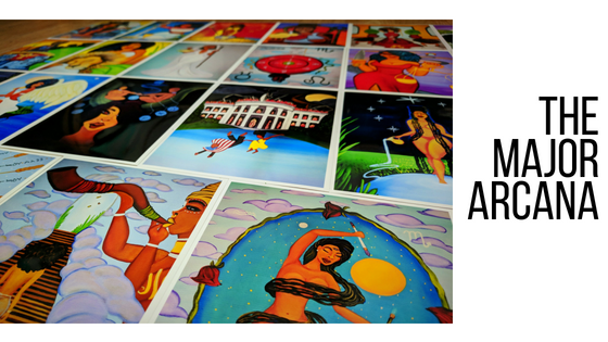 Artwork from the Major Arcana Cards