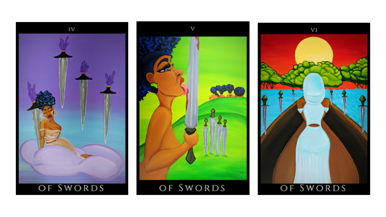 Swords. The suit of action.