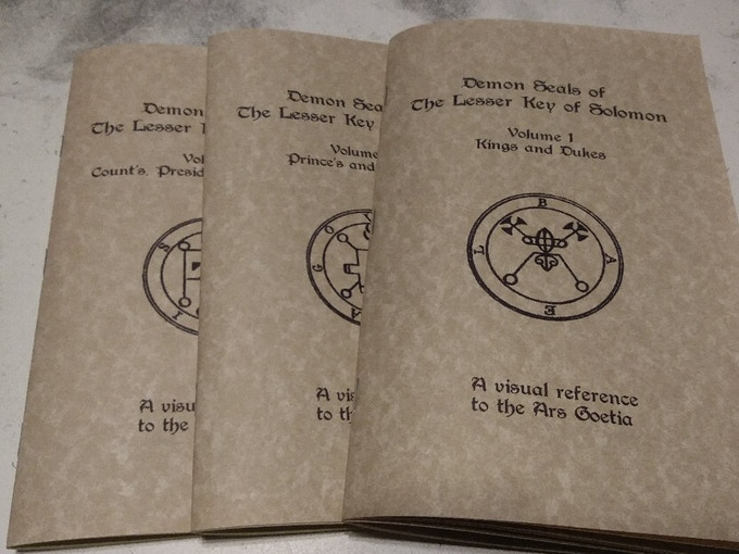 80 Solid metal Goetia coins All 72 Lesser Key Solomon Demons