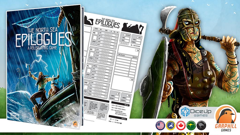 The North Sea Epilogues RPG + Raiders Play Mat
