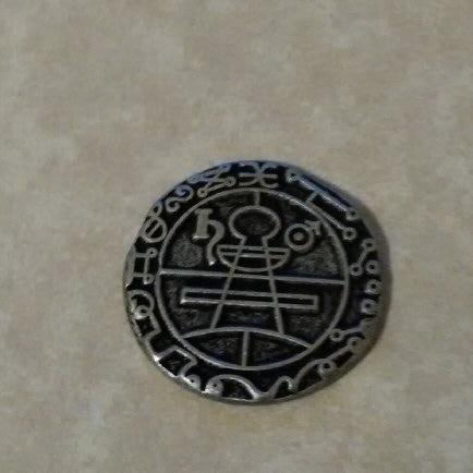 Solomons secret seal coin