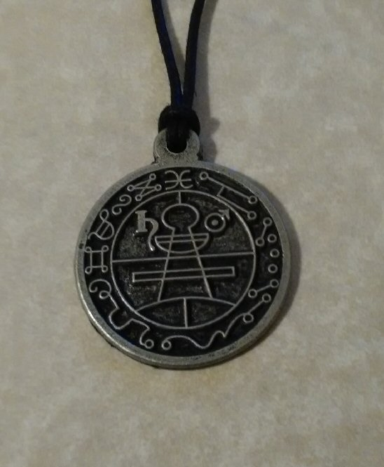 Solomons Seal necklace