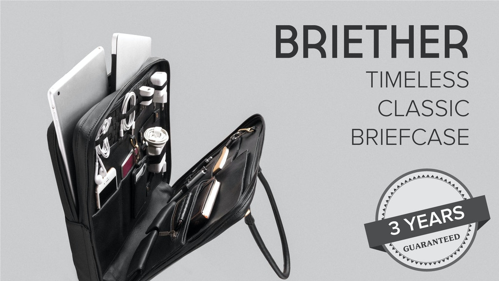 BRIETHER | Timeless Classic Briefcase