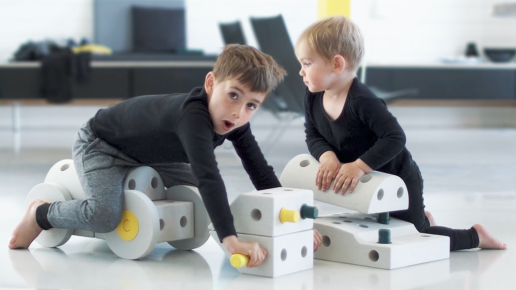 MODU: Life-size Building Toys for Active Play