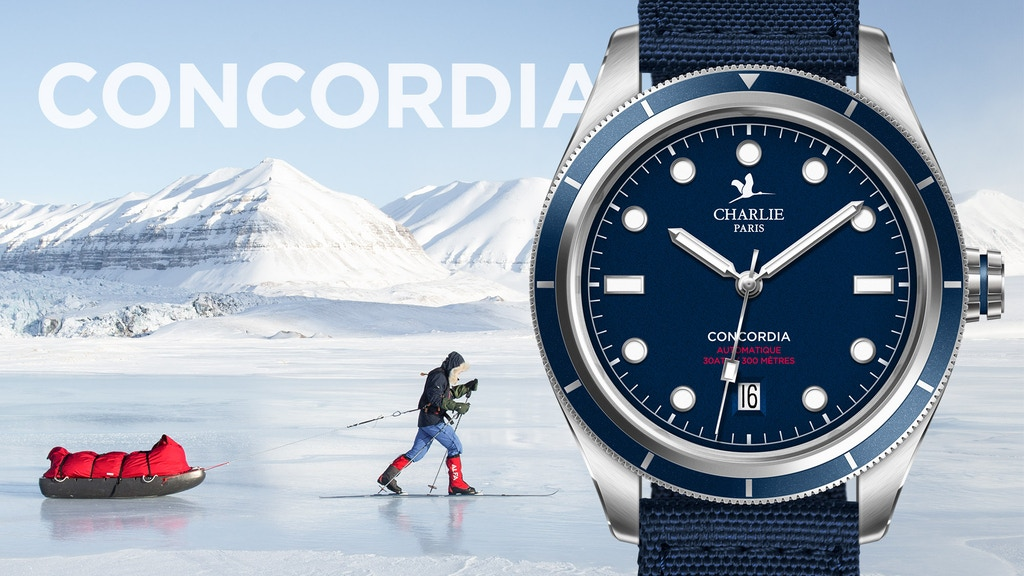 CONCORDIA - A watch to conquer the South Pole