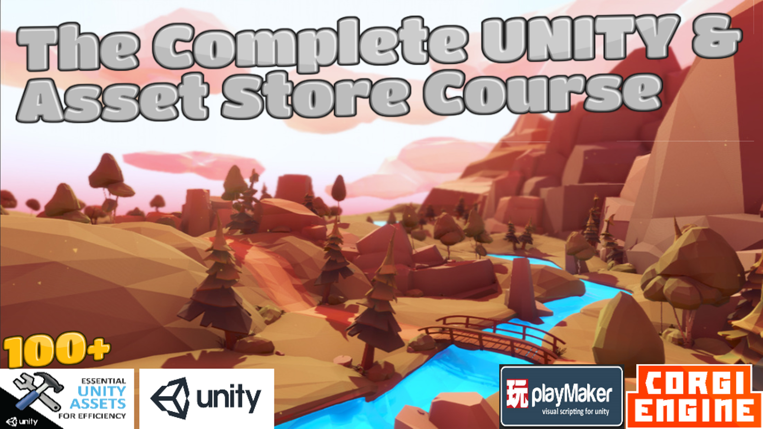 The Complete UNITY and Asset Store Game Developer Course by