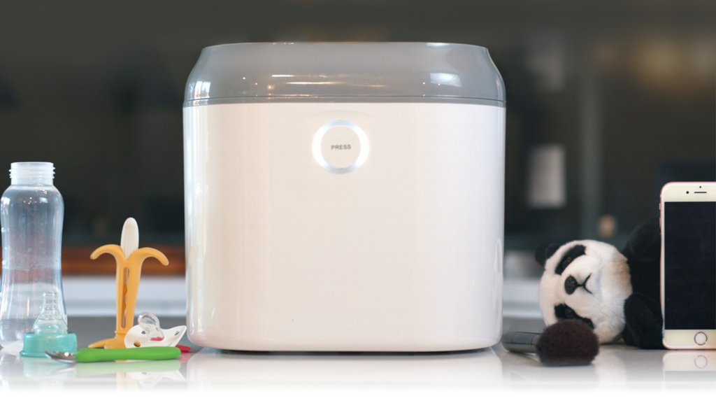 Coral UV: the all-in-one UV sanitizer and dryer