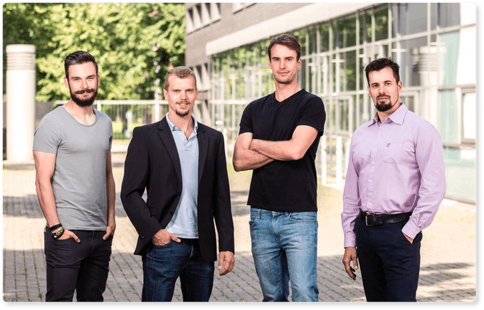 Torsten, Marcel, Lorenz and Guido