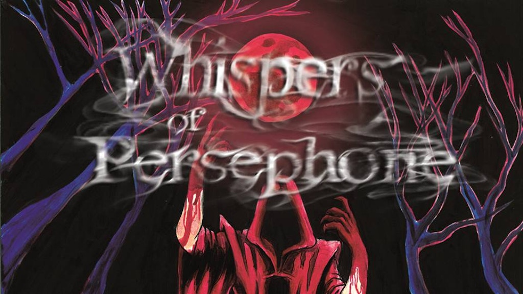 Whispers of Persephone ~ The bloody book of Necromancy 5E project video thumbnail