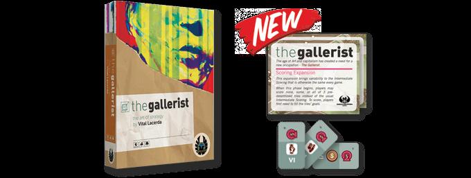 The Gallerist & The Gallerist: Scoring Expansion
