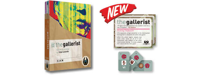 The Gallerist & The Gallerist: Scoring Expansion