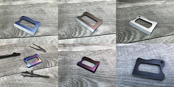 TRAK XL Titanium Anodized Colors Available