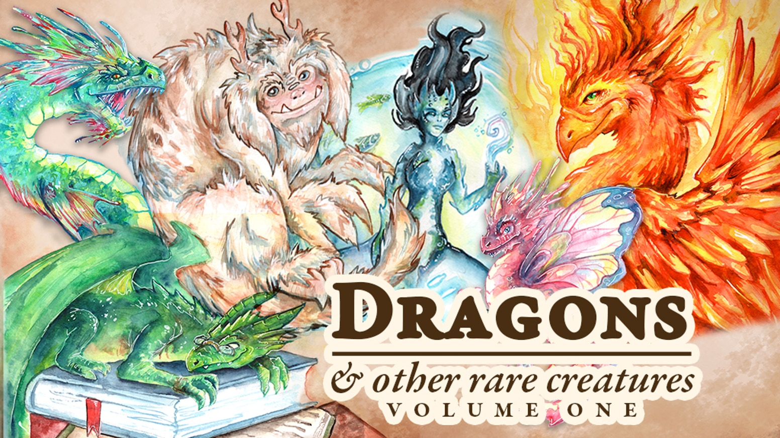 A 300 page field guide to dragons & other amazing creatures! Full color with hundreds of illustrations!