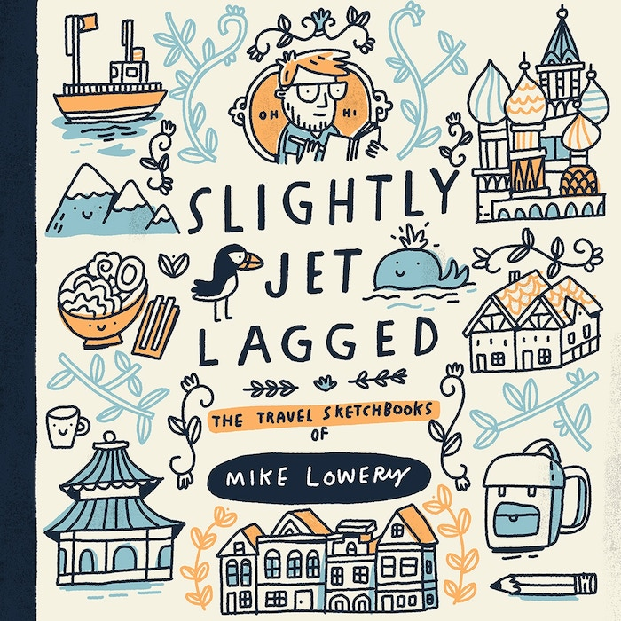 the final cover for Slightly Jet Lagged