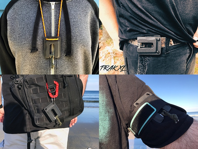 Wear it on your Neck, Belt, Backpack, or Armband