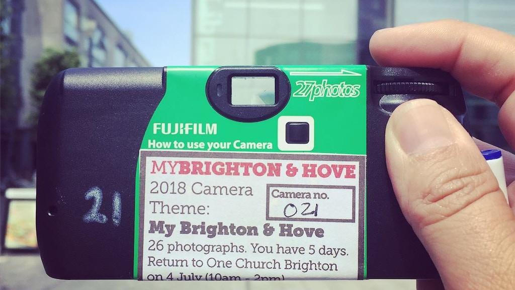 Cafe Art 2019 MyBrighton & Hove calendar project video thumbnail