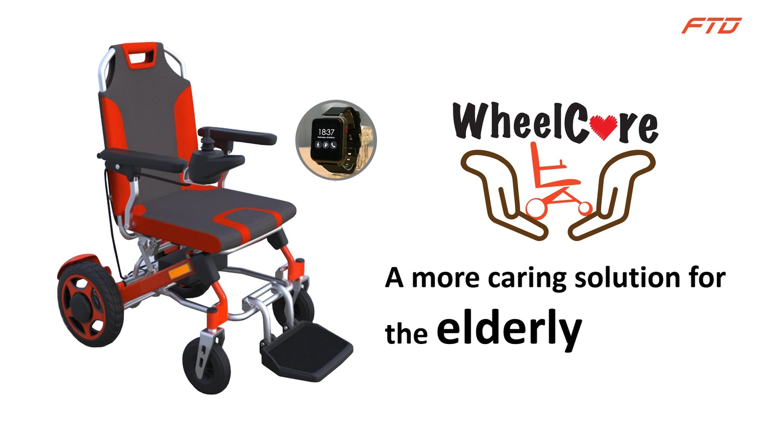 WheelCare is well designed for both carers and those with mobility difficulties (especially the elderly) are always connected.