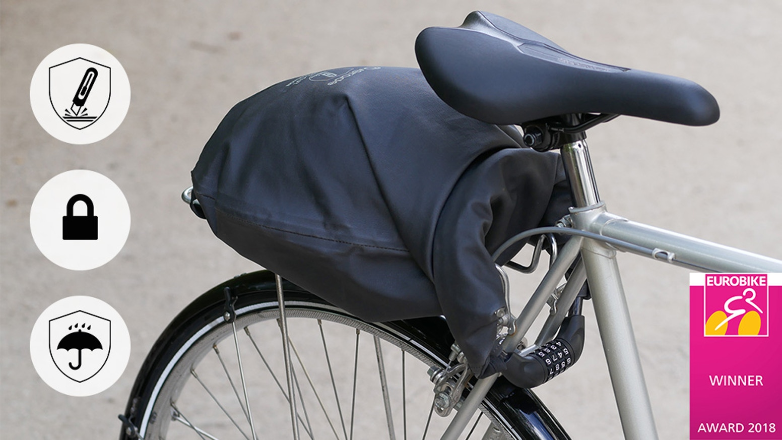 LOXI: The 1st Anti-theft & Waterproof Bag for your Bike by
