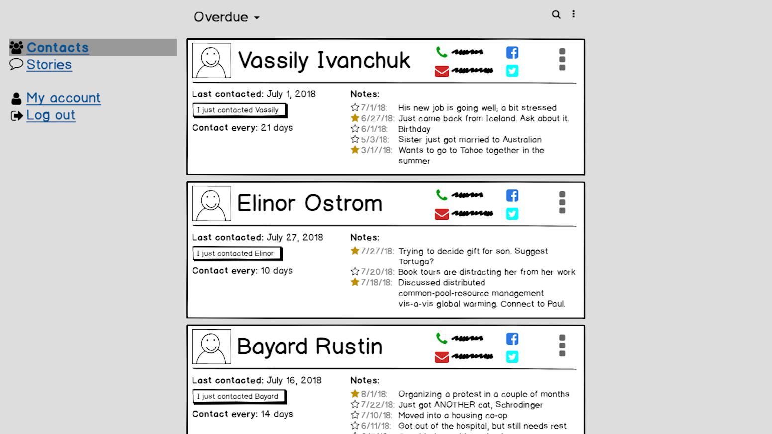 Get In Touch Web App by Nico Greenarry — Kickstarter