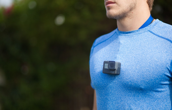 uCast Chest Mount with GoPro