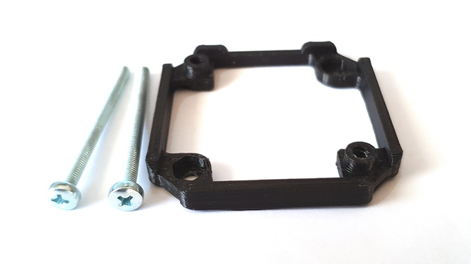 Permanent mount for uStepper S-line boards
