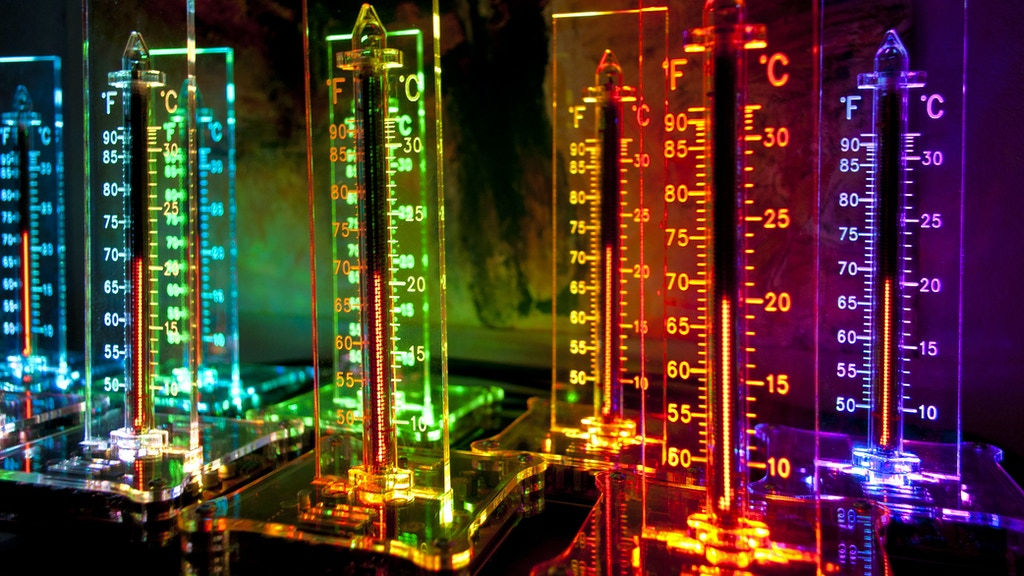 NixieTherm, Nixie IN-13 tube indoor thermometer DIY kit project video thumbnail