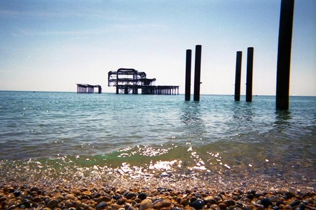West Pier by Leon Adrian
