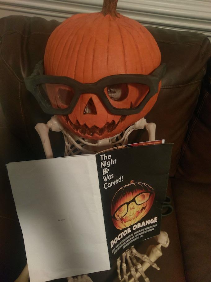 Dr. Orange Halloween mask