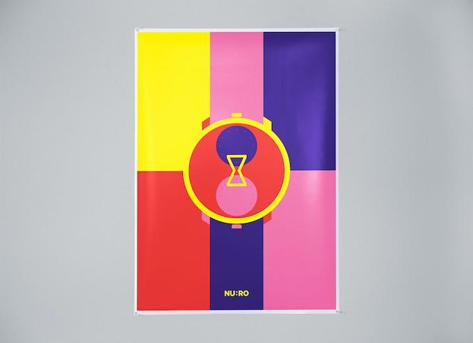 1. Yellow/purple/pink