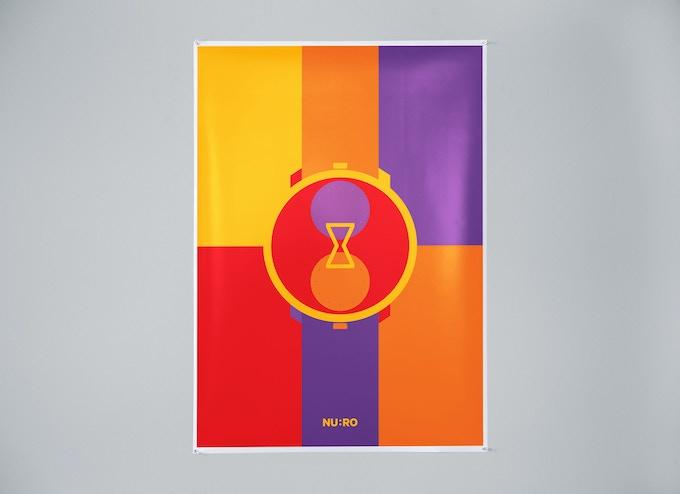 2. Orange/red/purple