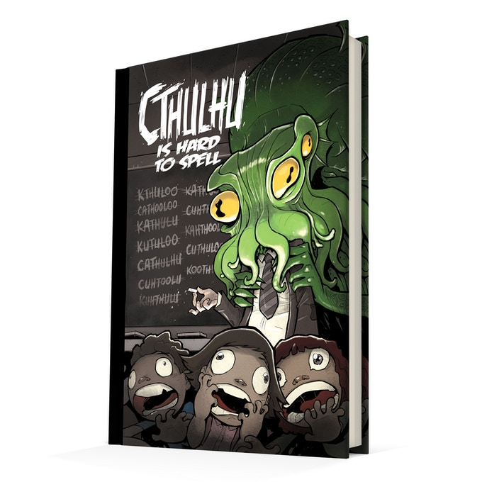 Cthulhu is Hard to Spell: A comic anthology about Lovecraft